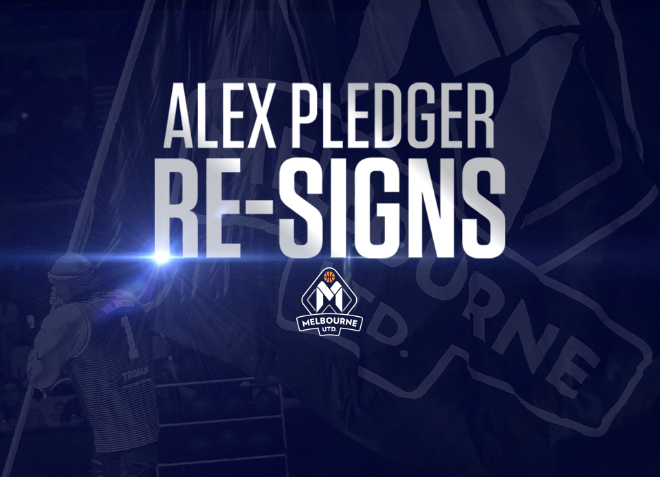 Alex Pledger stands United!