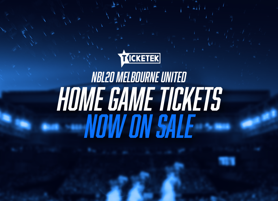 Melbourne United tickets now on sale!