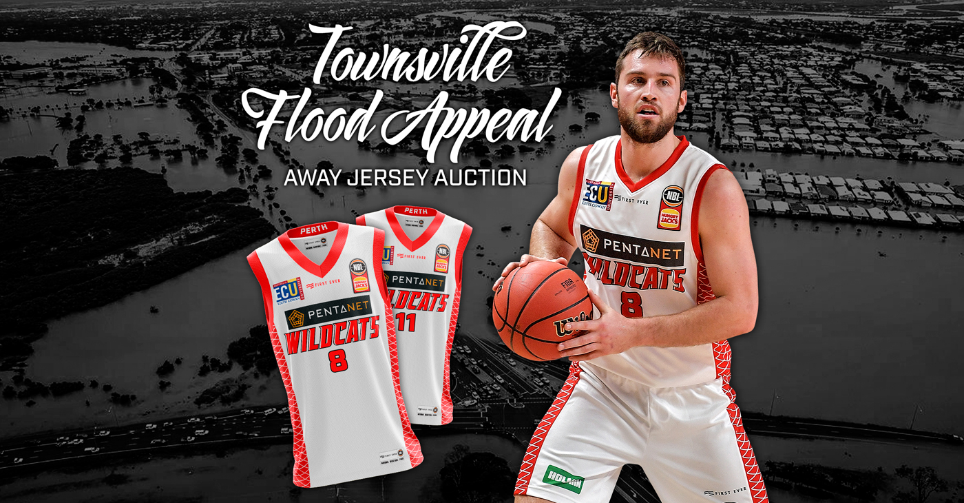 Other Helpful Bryce Cotton 2018-19 Perth Wildcats Official First Ever Nbl City Jersey Medium