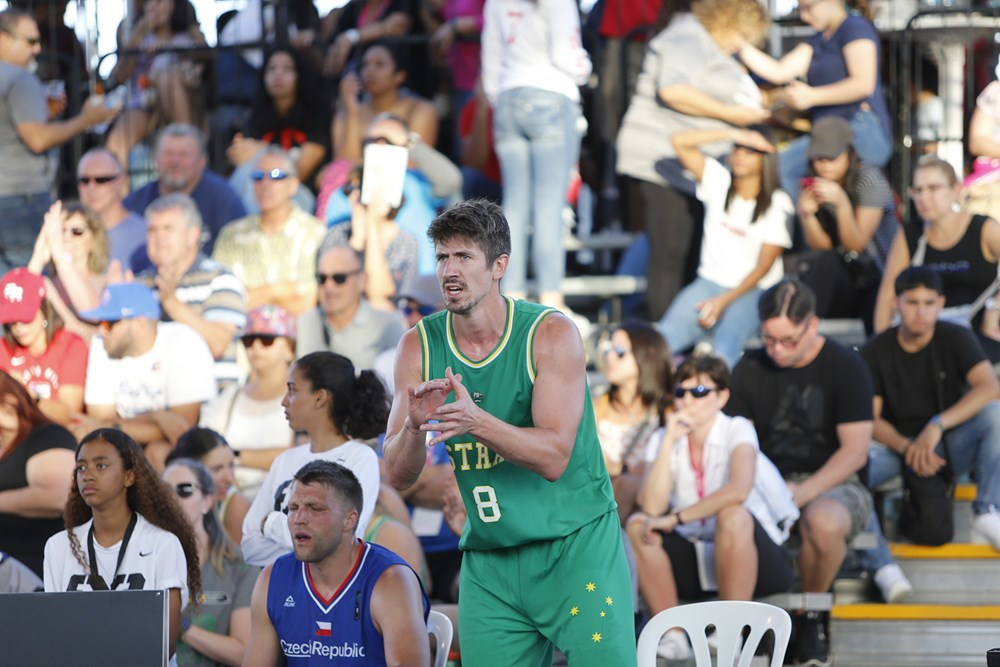 Greg Hire sees Australia into 3x3 World Cup
