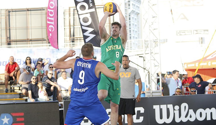 Greg Hire named in 3x3 Asia Cup Side