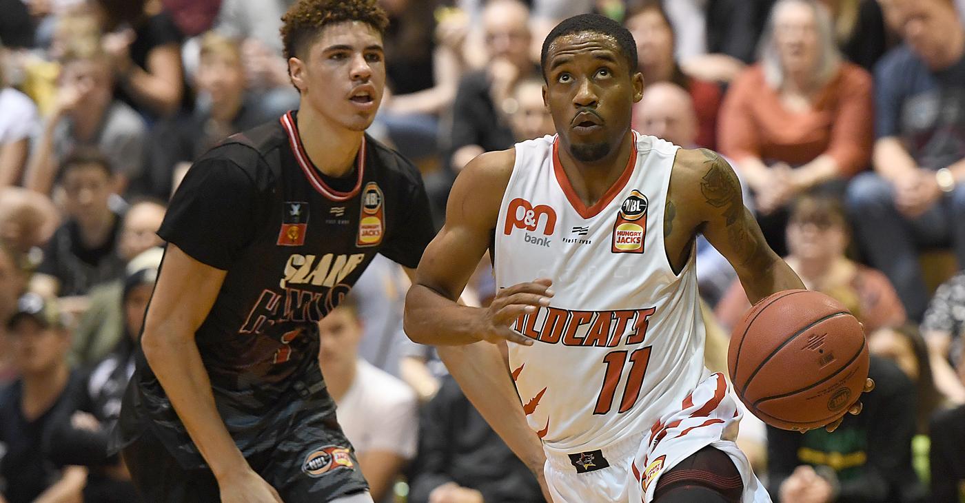 Wildcats fall in high-scoring Blitz battle