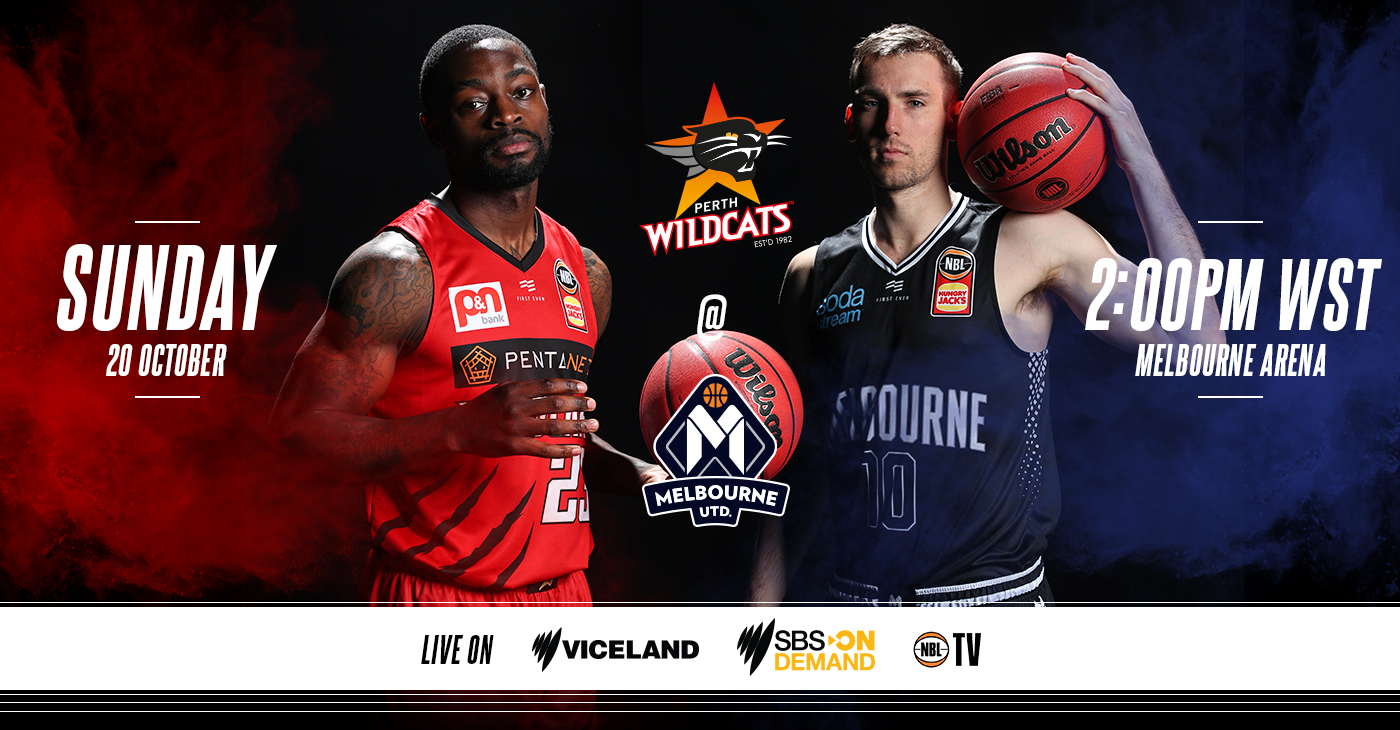 Perth Wildcats vs Melbourne United - Sunday Preview